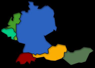 duetschland karte